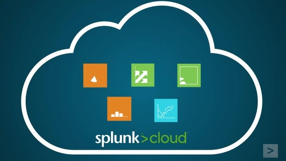 Depiction of Splunk being greater than just the cloud.