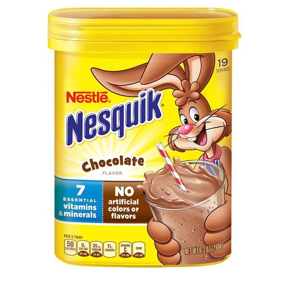 """Nestle's popular """"Nesquick"""" mix."""