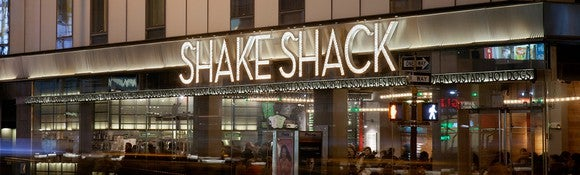 A Shake Shack location in Manhattan