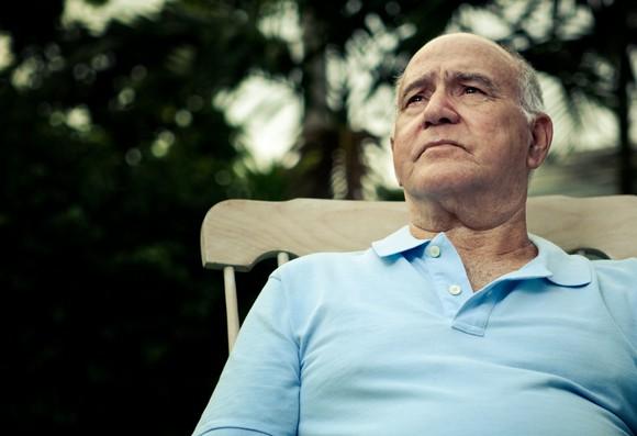 Concerned older man