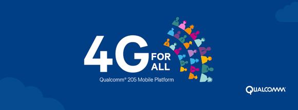 Qualcomm 205 Mobile Platform promotional material