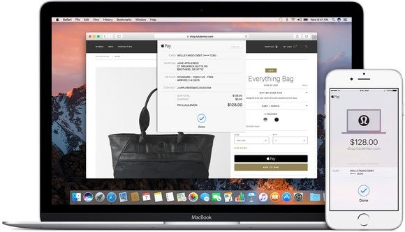 Apple's mobile payment service can let you shop anywhere