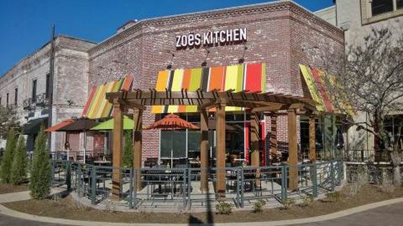 A new Zoe's Kitchen location in Kansas City.