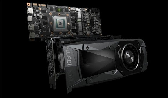NVIDIA's high-end GTX 1080 Ti.