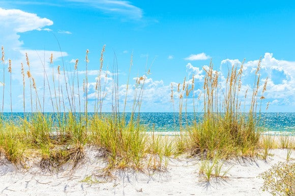 A sunny day on St. Pete Beach, Florida
