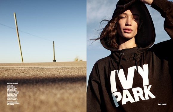 Ivy Park, a new activewear brand co-founded by Beyonce.