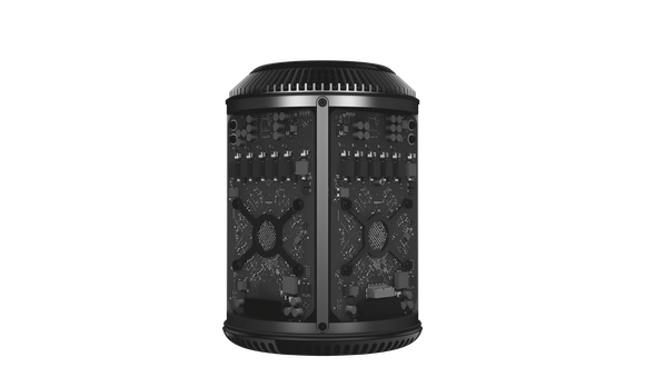 Tearaway rendering of Mac Pro