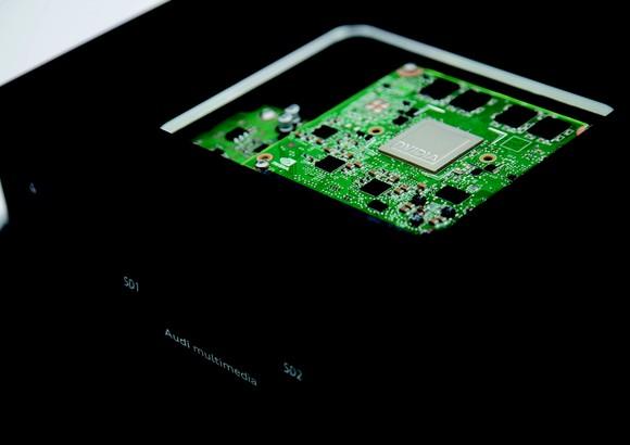 An NVIDIA chip.