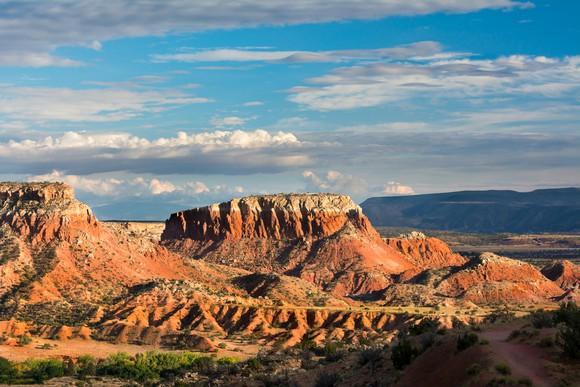 New Mexico desert rocks.