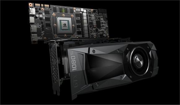 NVIDIA's GTX 1080 Ti GPU.