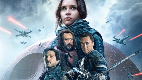 Theatrical poster for Rogue One.