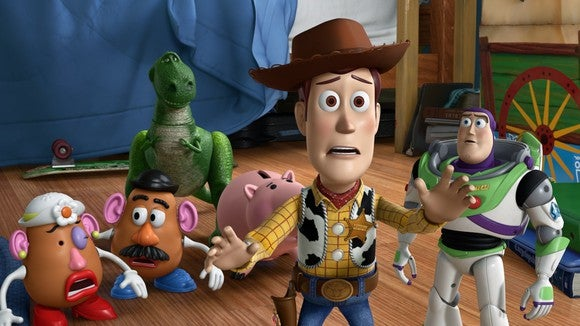Woody and friends.