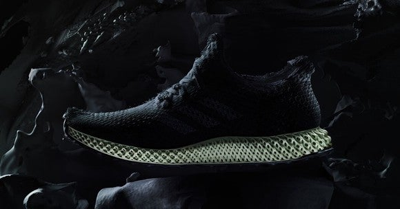 A Futurecraft 4D shoe.