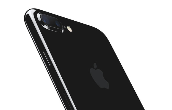 Angled picture of iPhone 7 Plus