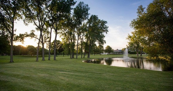One of ClubCorp's private golf courses.
