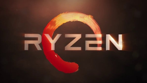 The AMD Ryzen logo.
