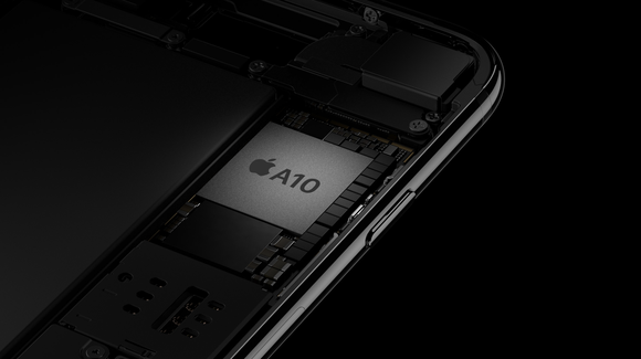 Tearaway rendering of A10 Fusion chip