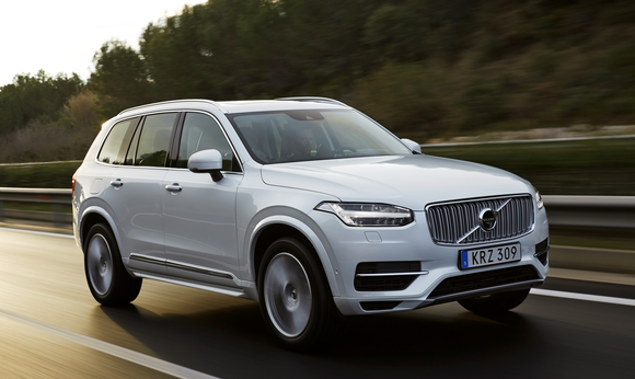 Volvo sport utility vehicle powered by NVIDIA technology