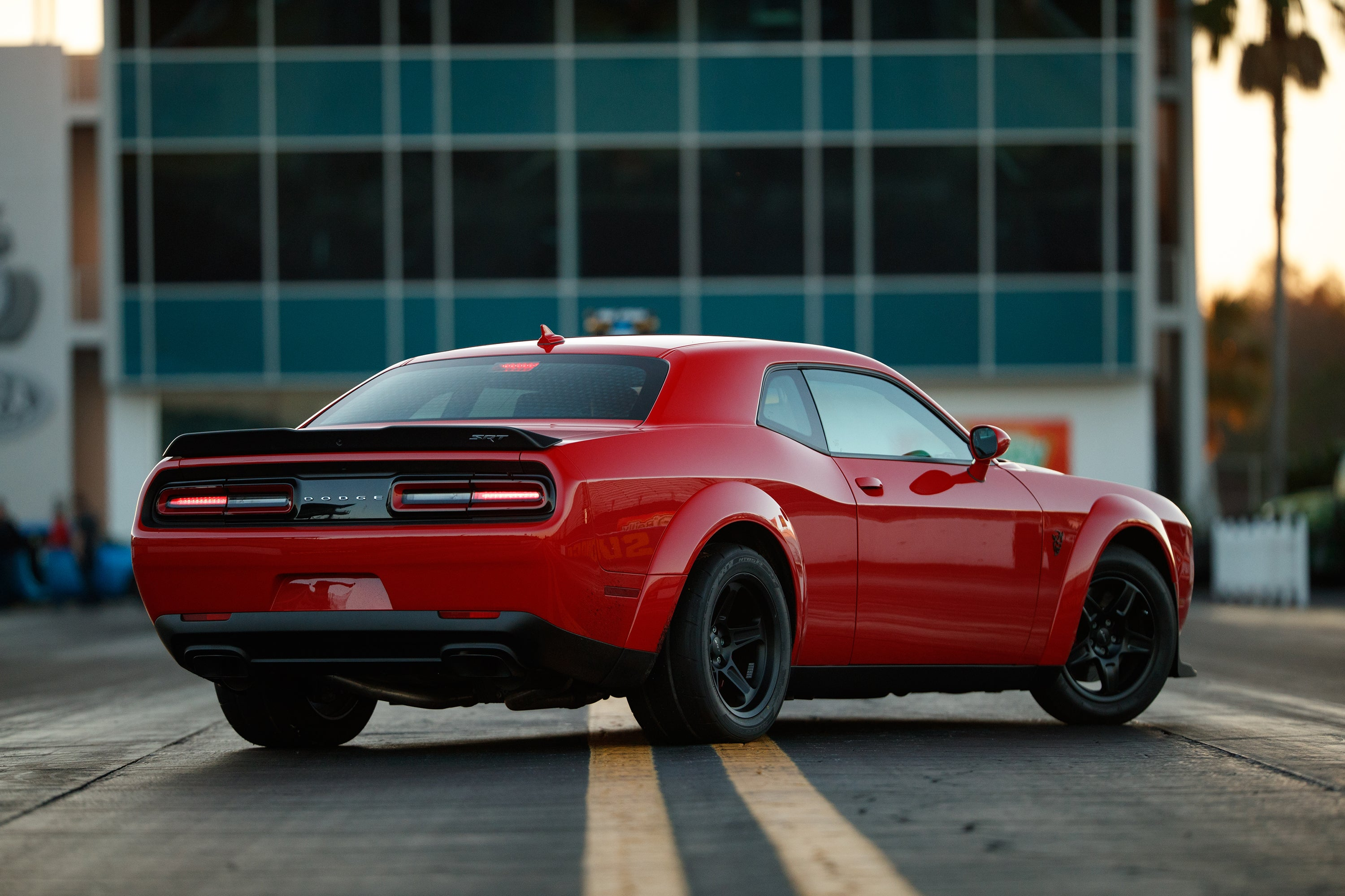 Why Fiat Chrysler Automobiles Created The Insane 2018 Dodge Challenger Srt Demon The Motley Fool