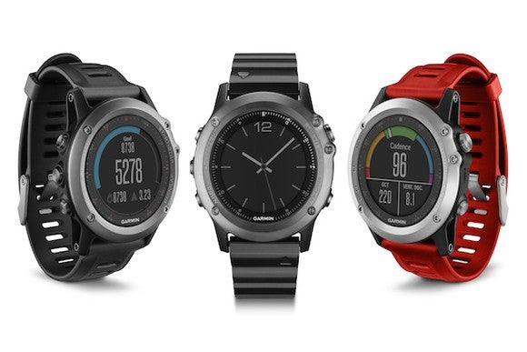Picture of the Fenix line of Garmin watches.
