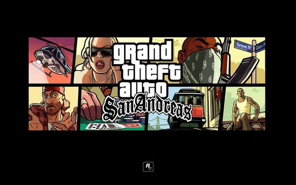 Box art of Grand Theft Auto San Andreas video game