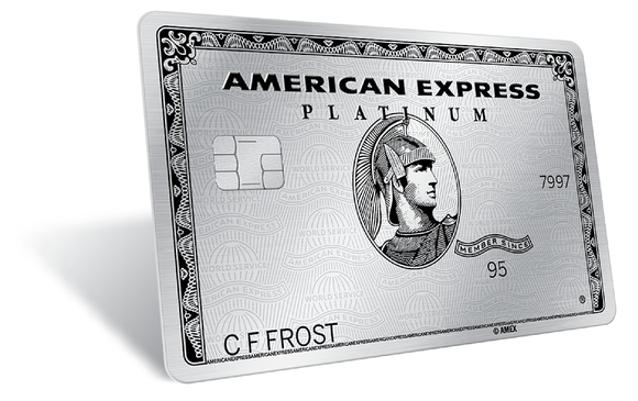 Amex Platinum charge card.