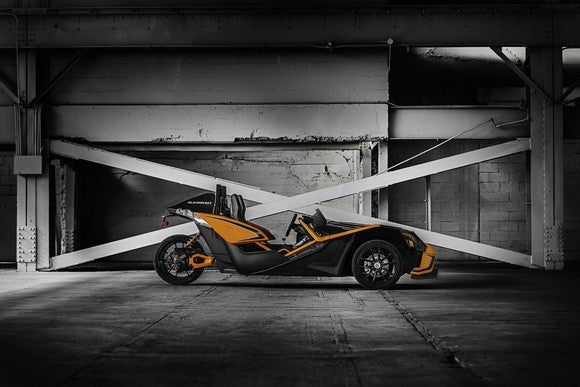 Polaris 2017 Slingshot SLR orange