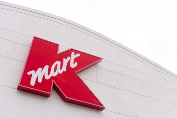 A Kmart sign.