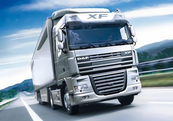 DAF heavy-duty truck.