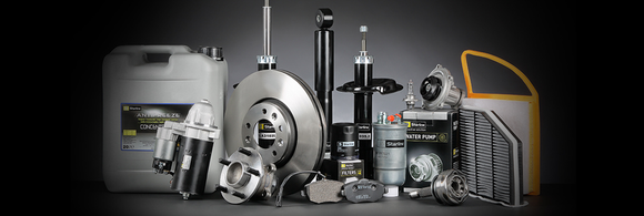 Various auto parts from LKQ.