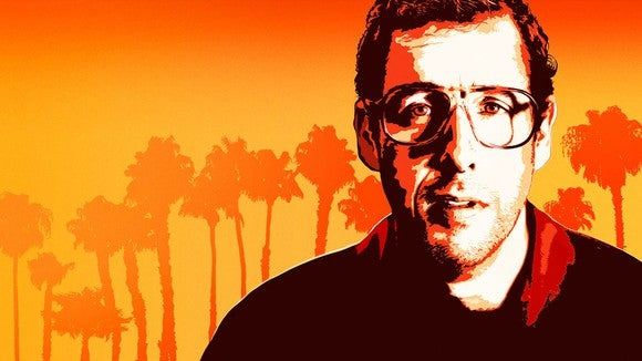 Cover art of Adam Sandler as Sandy Wexler.