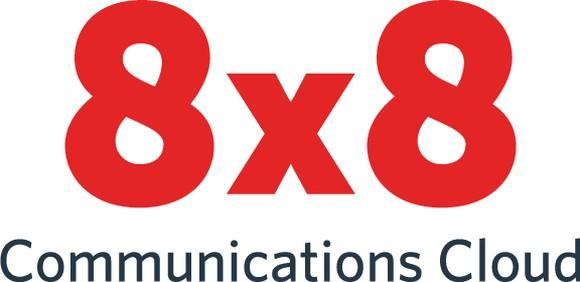 The 8x8 logo.