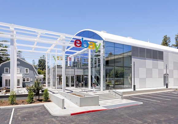 eBay San Jose Campus entrance.