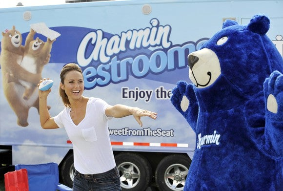 Charmin promotional material.
