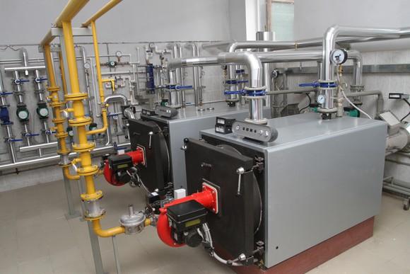 Commercial boiler.
