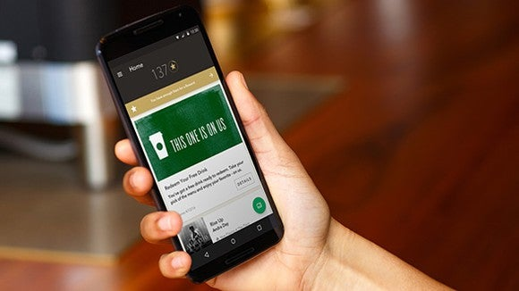 Starbucks mobile order and pay app