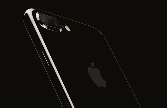 Apple's iPhone 7 Plus in Jet Black