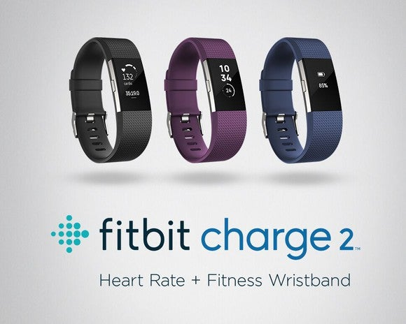 The Fitbit Charge 2 lineup.