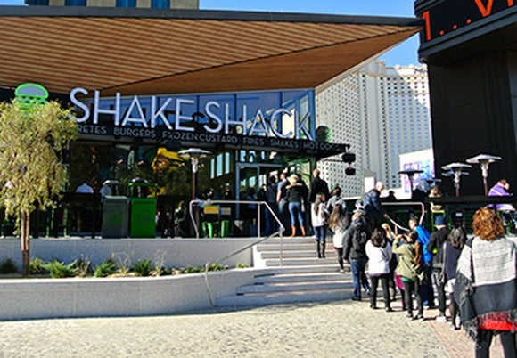 A new Shake Shack opening in Las Vegas