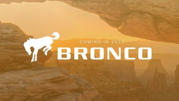 Ford Bronco marketing logo.
