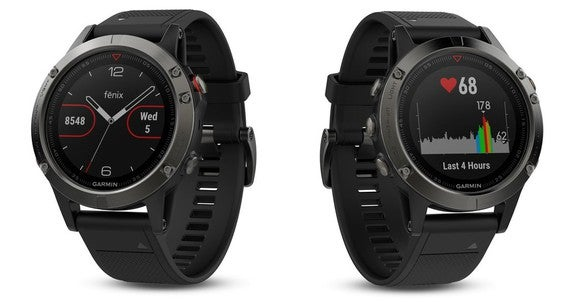 Garmin's high-end Fenix sports watches.