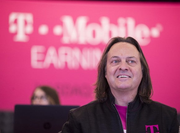 John Legere, T-Mobile CEO.