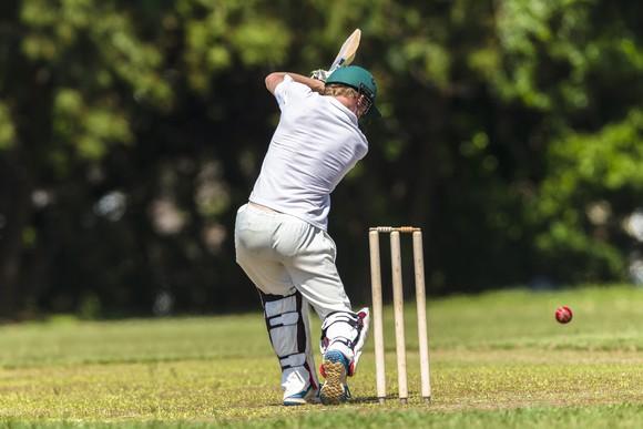 A cricket player
