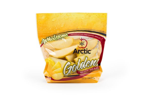 A bag of Arctic apple slices.