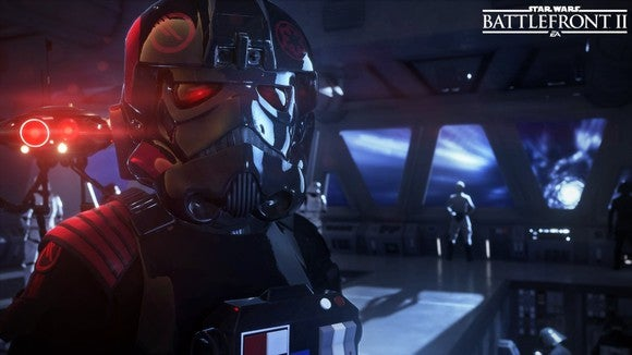An enemy character in Battlefront II.