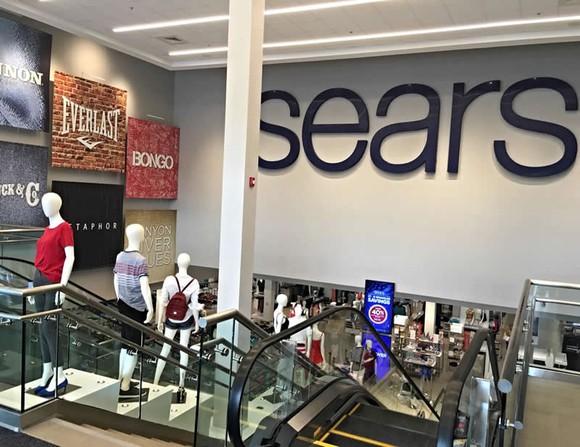 Escalator in a Sears store