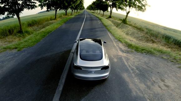 Model 3 driving