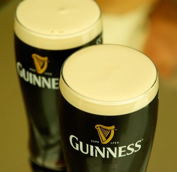 Diageo's Guinness Irish dry stout.
