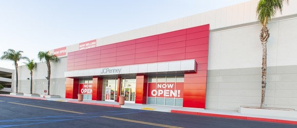 A JCPenney store.