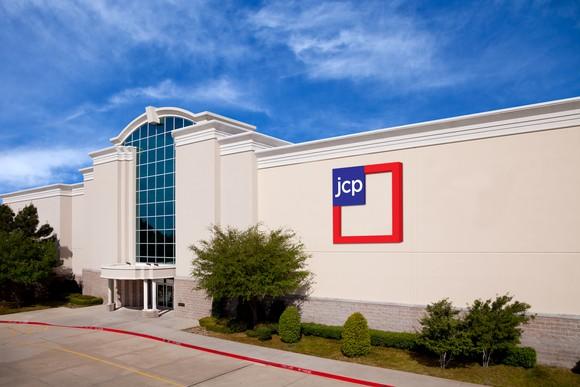 J.C. Penney store exterior